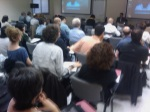 Asistentes a la conferencia de Cristobal Cobo Aprendizaje Invisible